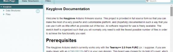 Shiny New Keyglove Firmware on Github